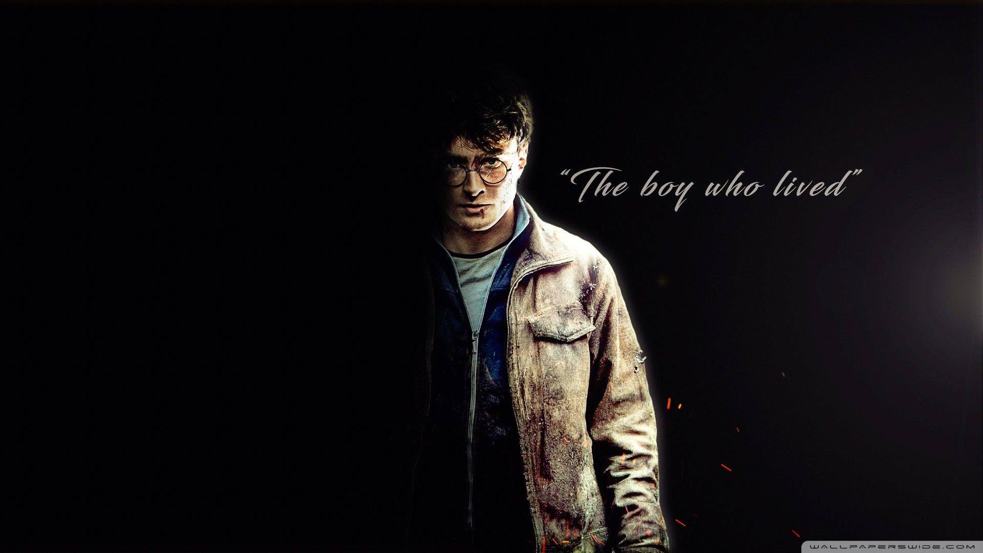 Res 1920x1080 Harry Potter The Boy Who Lived Hd Wide Wallpaper For 4k Uhd Widescreen De Harry Potter Wallpaper Harry Potter Images Harry Potter Background