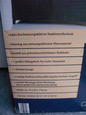 Faltbarer Kleiderschrank, Original verpakt in Wandsbek