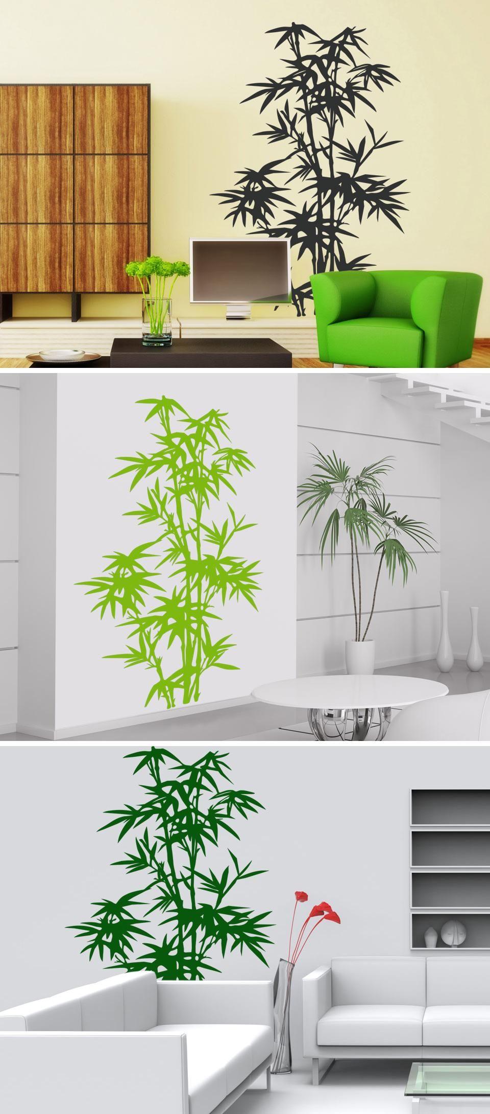 Bambus Pflanze Pinterest Wand