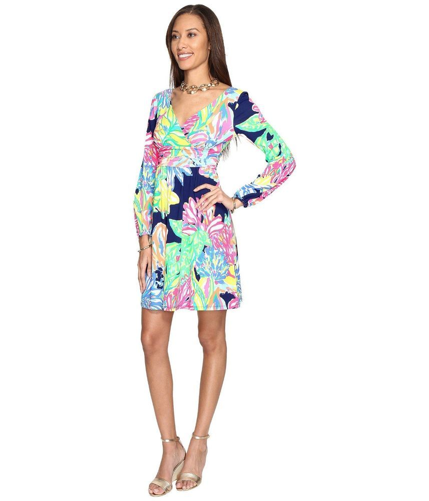 e2320c64eb5cbd NWT Lilly PulitzerMulticolor Fleur In The Print Travelers Palm - Size XXS  #fashion #clothing #shoes #accessories #womensclothing #dresses (ebay link)
