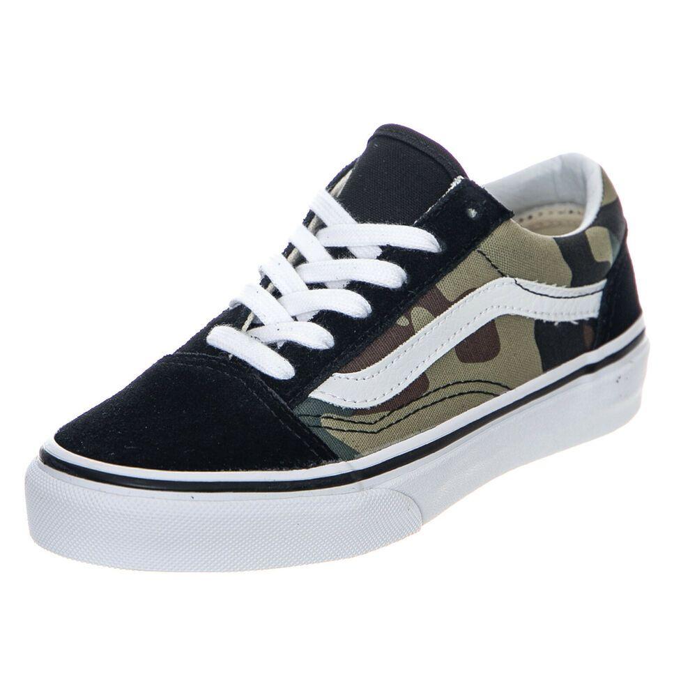 eBay #Sponsored Vans Uy Old Skool Woodland Camo Sneakers