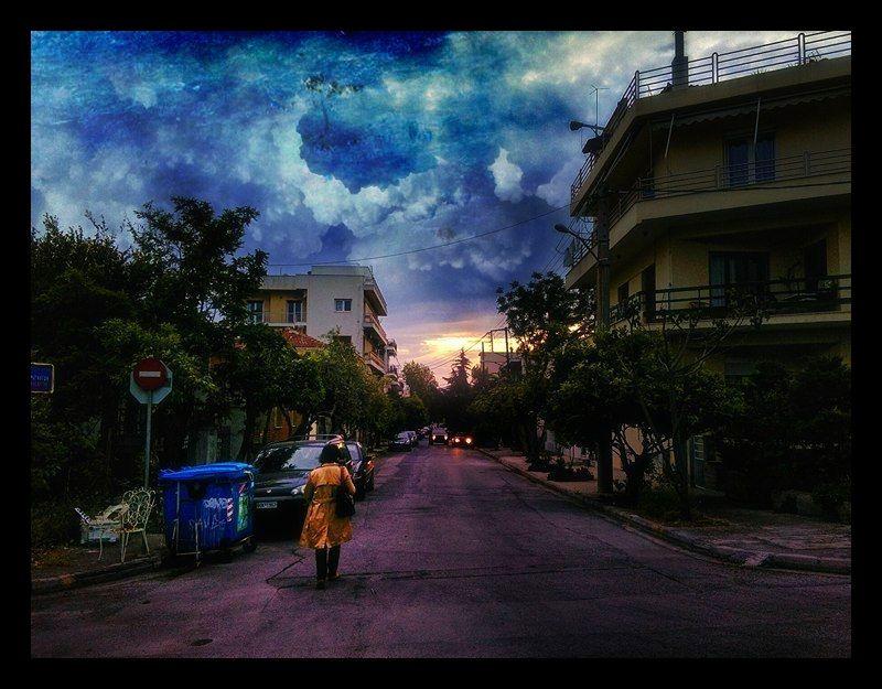 ανάσταση #volos #rigaferraiou #greece #purple #stigmography #neoklismantas