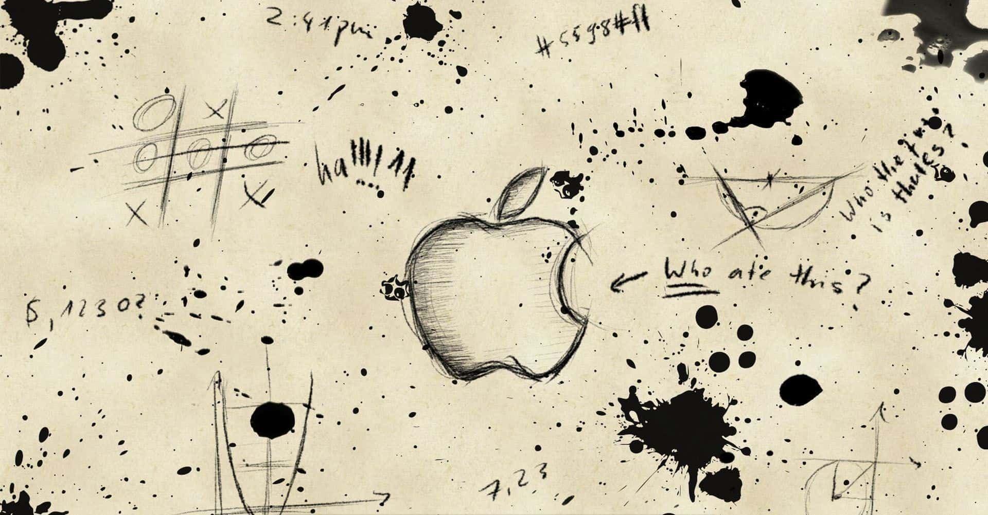 Cool Wallpapers Mac Http Jazzwallpaper Com Cool Wallpapers Mac Hd Wallpapers Apple Logo Wallpaper Apple Sketch Cool Hd Wallpapers
