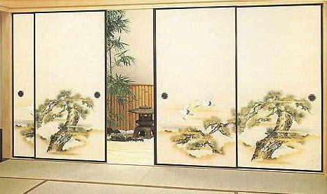Marzua Fusuma Casas Japonesas Puertas De Granero Corredizo Paneles Japoneses