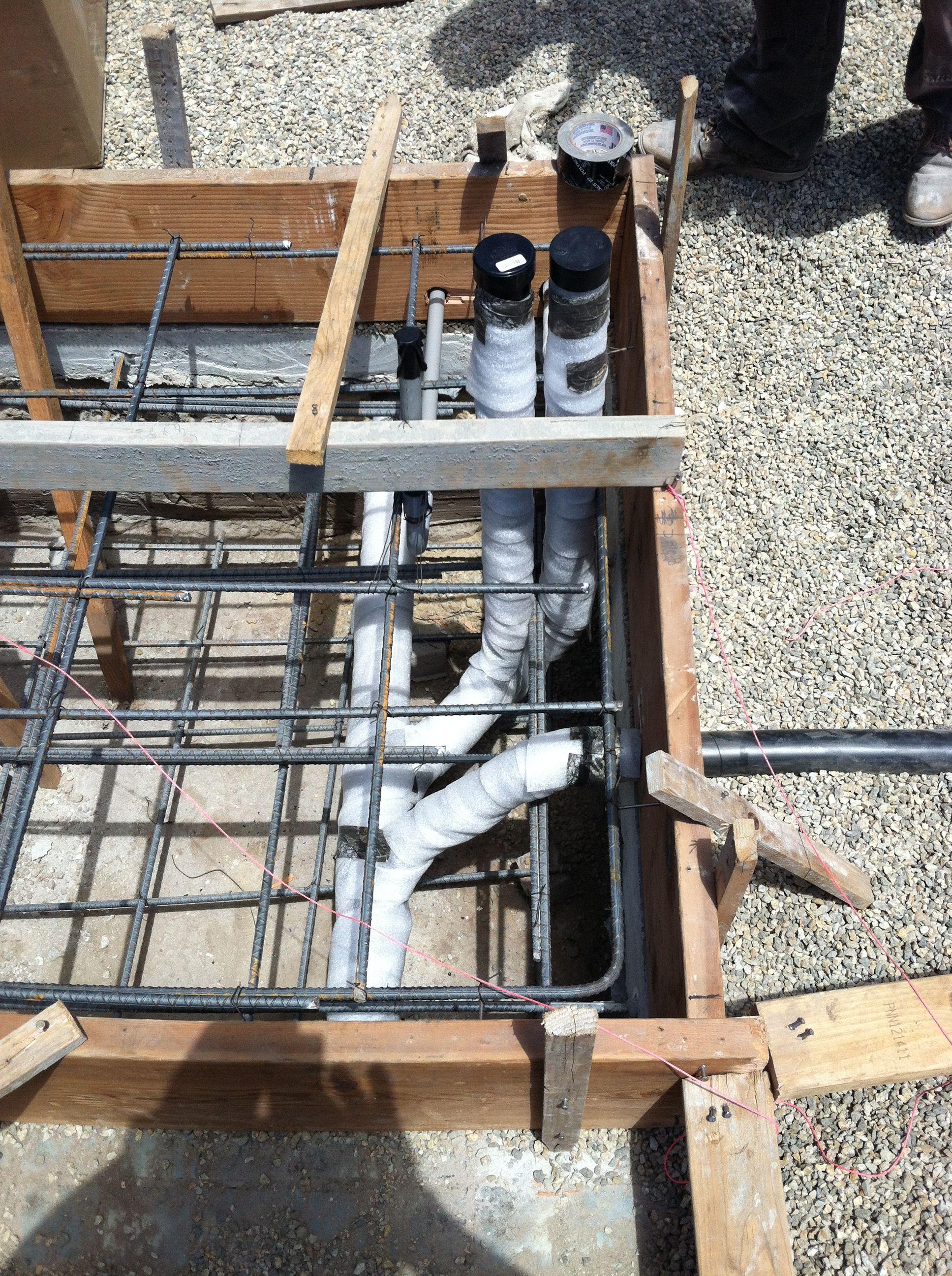 Kitchen Island Drain And Vent Loop Wine Rack Plumbing Home Decor
