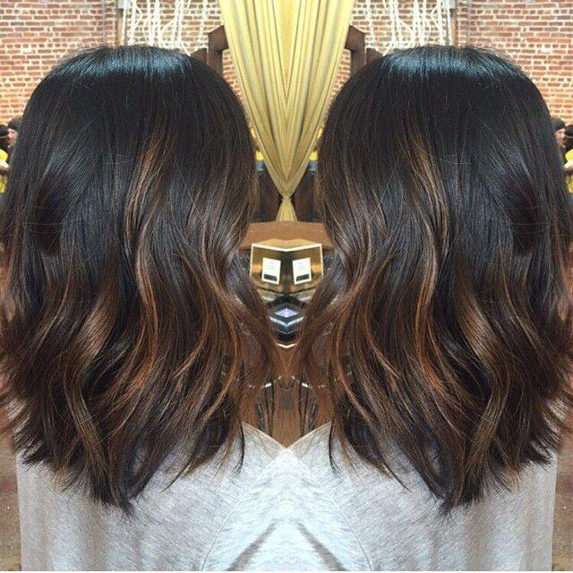 Balayage Black Hair Indian Straight Black Hair Balayage Balayage Hair Dark Hair Styles