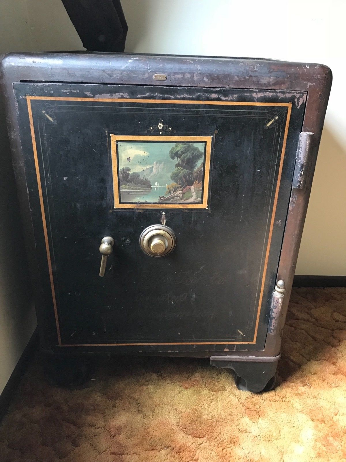 Vintage Antique Mosler Safe Co  Safe Vault (no combination