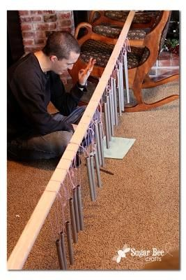 DIY Pipe Chimes -- Make some for your family and play together!