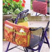 Wheelchair & Walker Bag Pattern by Kwik Sew
