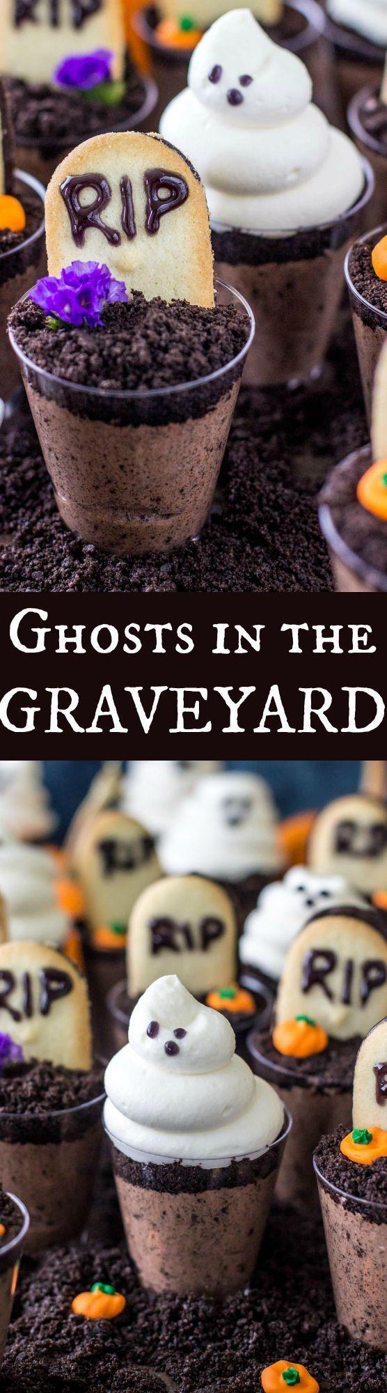 Ghosts in the Graveyard Dessert Shooter - Ich liebe es, wie individuell diese sind und ... #dessertshooters