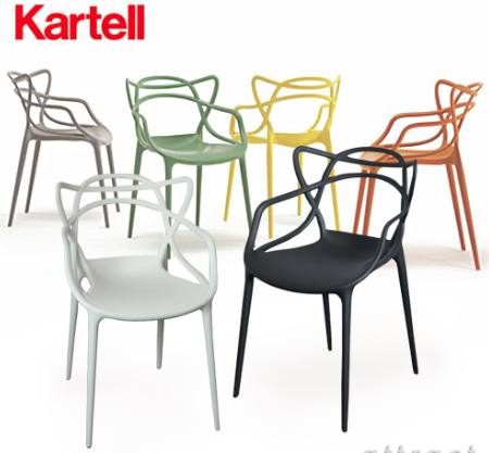 Masters Chair Kartell Deck 500 Masters Chair White Plastic Chairs Dining Table Chairs