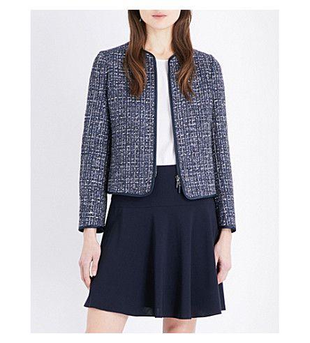 70a7527af646 ARMANI COLLEZIONI - Metallic-tweed woven jacket