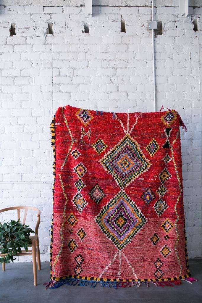 Sold Close Encounters Boucherouite Vintage Moroccan