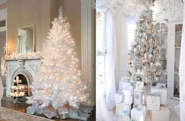 rbol de navidad blanco - Arboles De Navidad Blancos