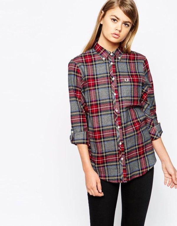 05b43b8e04838 Moda otoño invierno para mujer  Camisetas y Camisas
