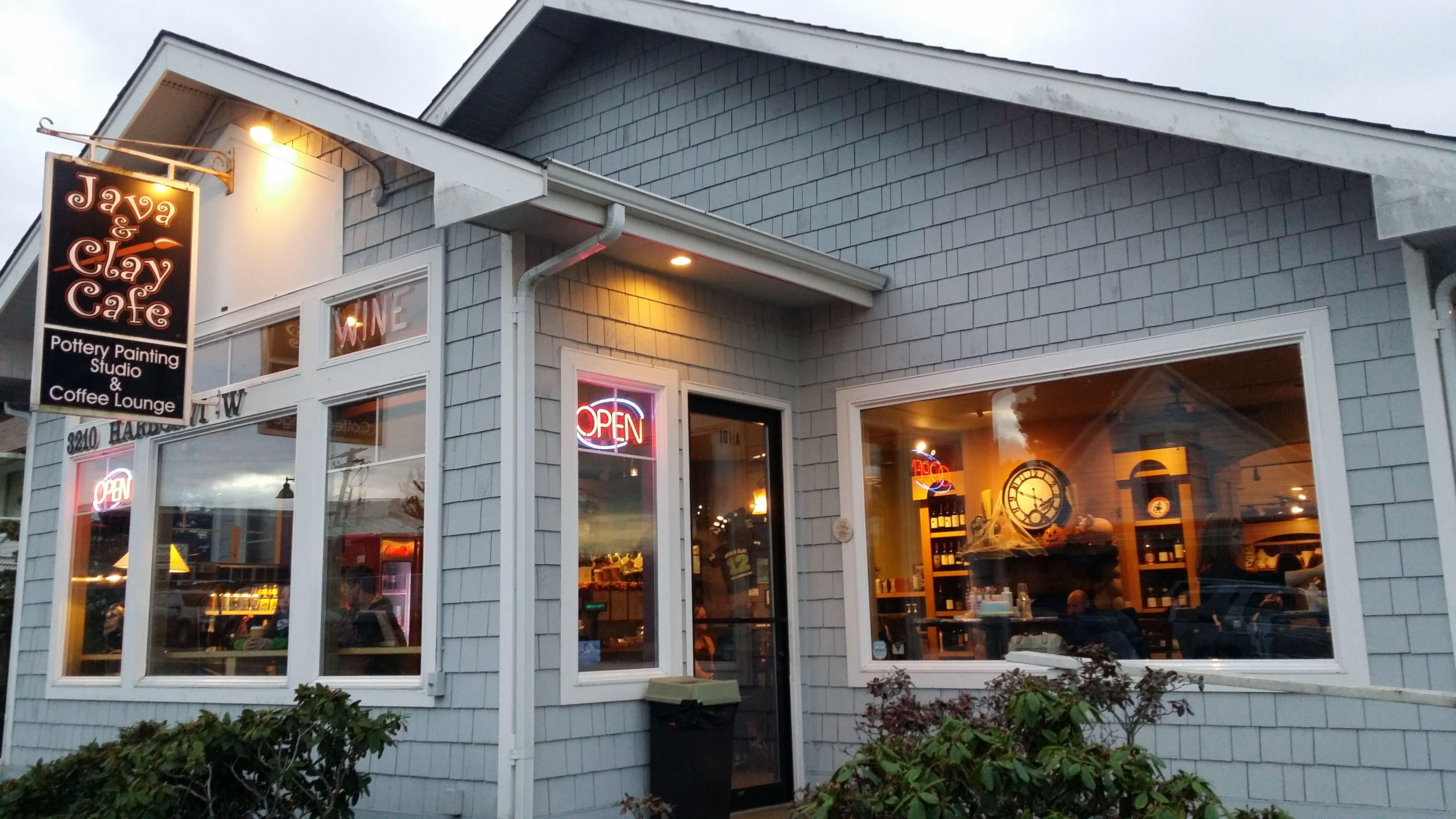 Java Clay Cafe Gig Harbor Wa