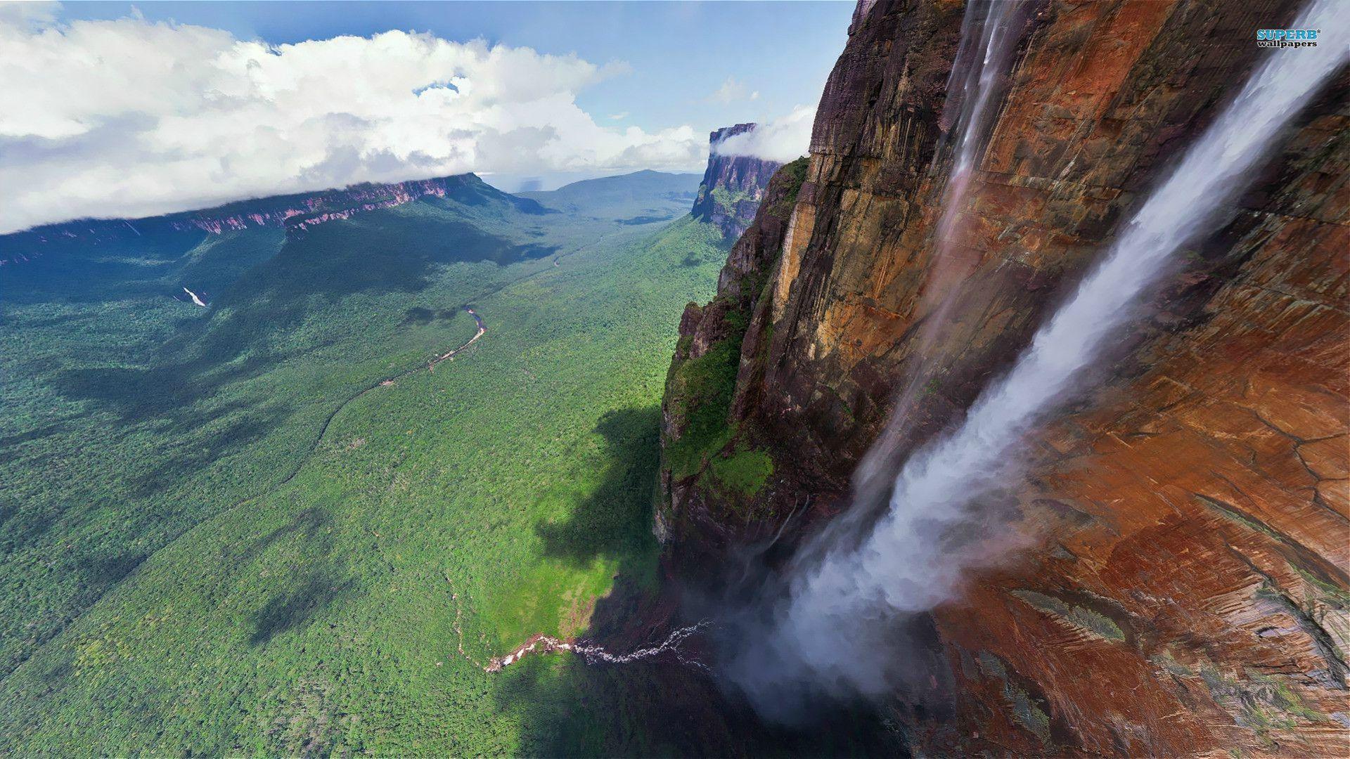 Angel Falls, Venezuela. | Angel falls venezuela, Waterfall ...