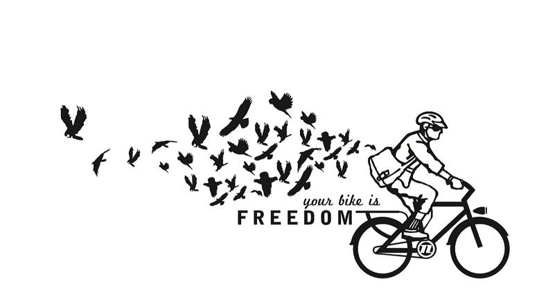 #Bicycle = #Freedom