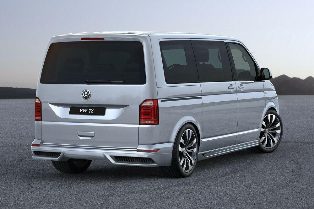 VW T6 HECKANSATZ HECKLIPPE Tuning Umbau neu Verbau #audivehicles