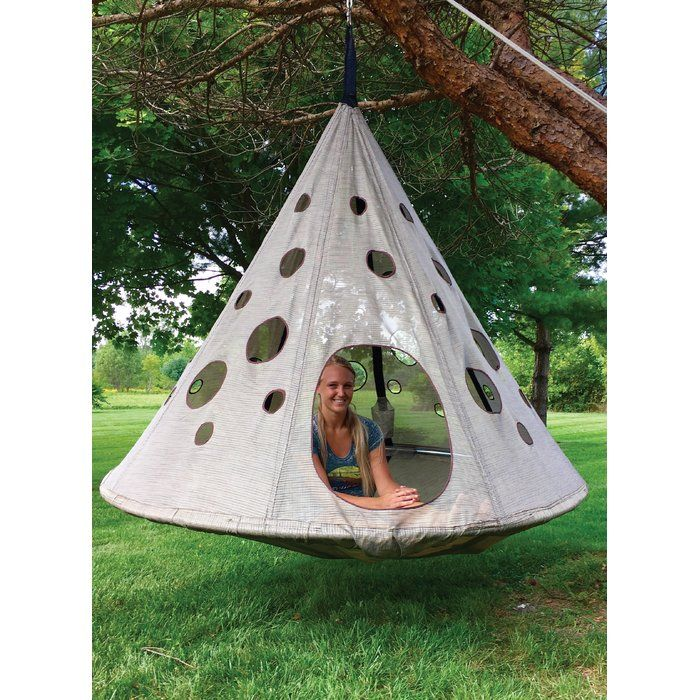 The Flowerhouse Moon Drop Chair Hammock Offers A Beautiful Place To Lounge Nap Or Read In Your Home And Out In Your Ga Hanging Hammock Hammock Diy Bird Feeder