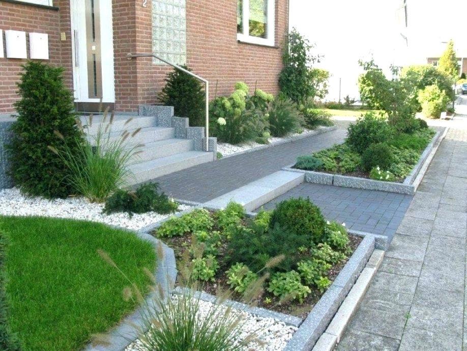 Gartengestaltung Ideen Vorgarten Farm Garten Sidewalk