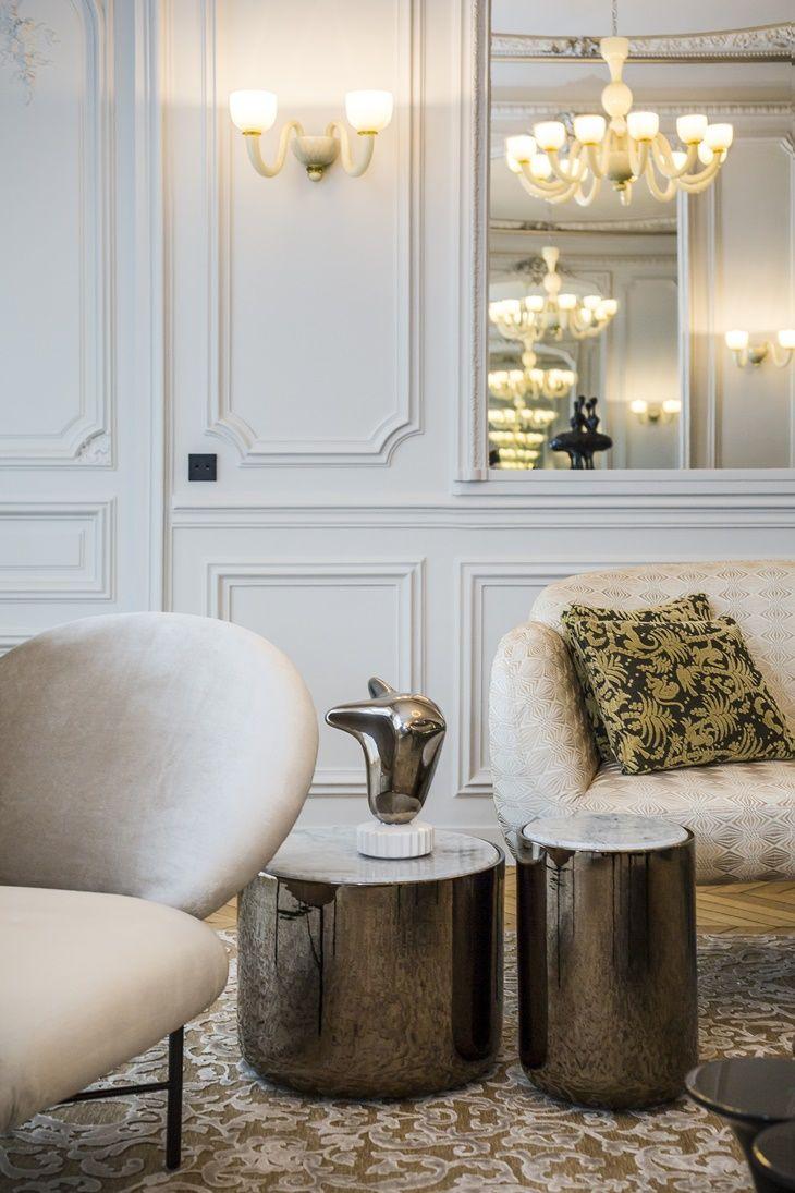 Parisian Apartment by Gérard Faivre