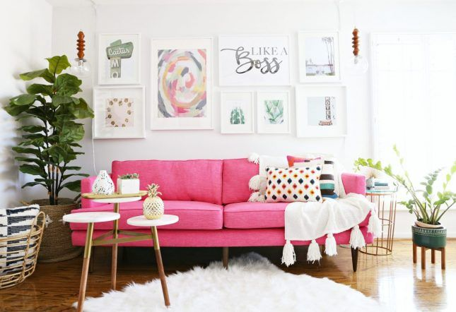 13 Kate Spade New York-Inspired Decor Ideas for Your Living Room ...