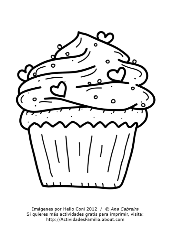 Dibujos de cumpleaños para colorear (Descarga Gratis) | Preschool ...