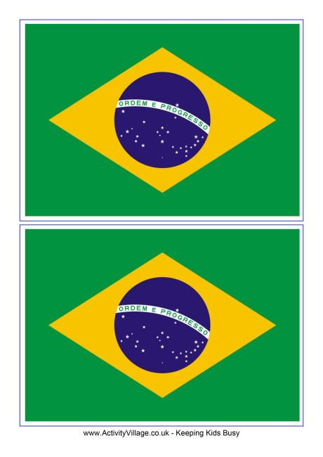 picture about Brazil Flag Printable called Brazil flag printable Songs night time Brazil flag, Brazil