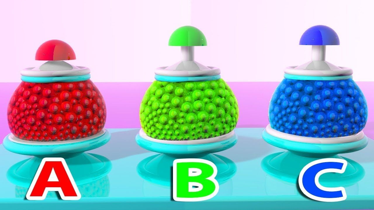 learn colors with color balls Mixer toy & Alphabets | Learn Nursery ...