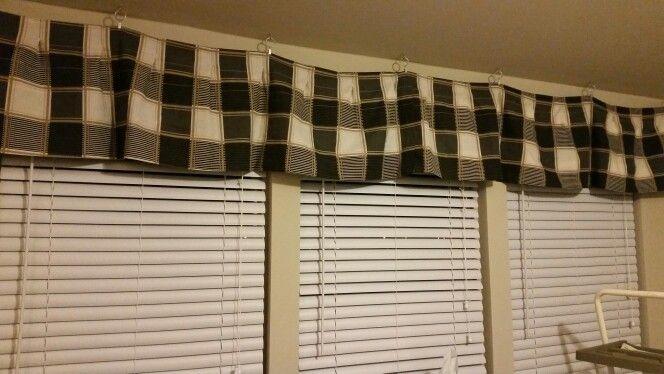 Cheap No Rod Window Dressing Valance For Under 10 Valance