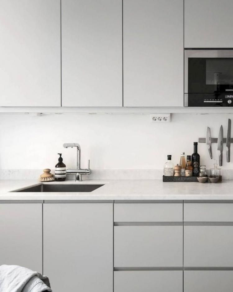 40 Captivate Minimalist Kitchen Decor And Design Ideas Kitchen