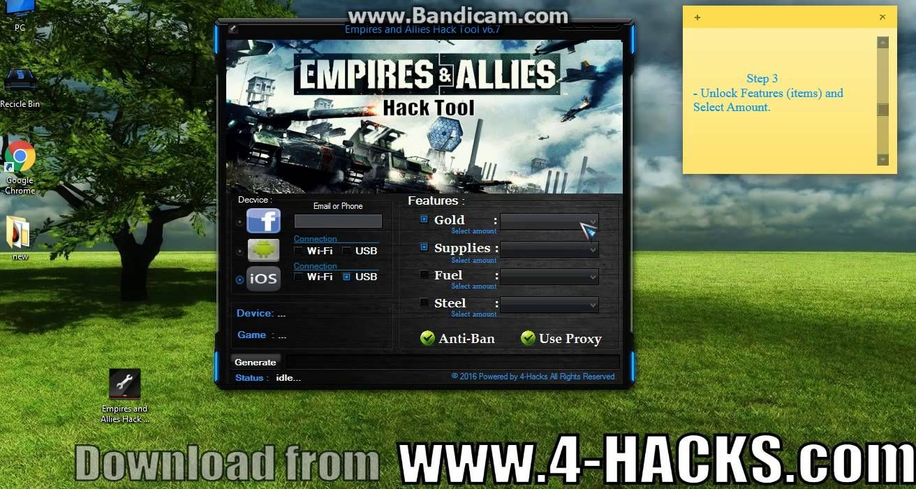 empires and allies apk mod hack