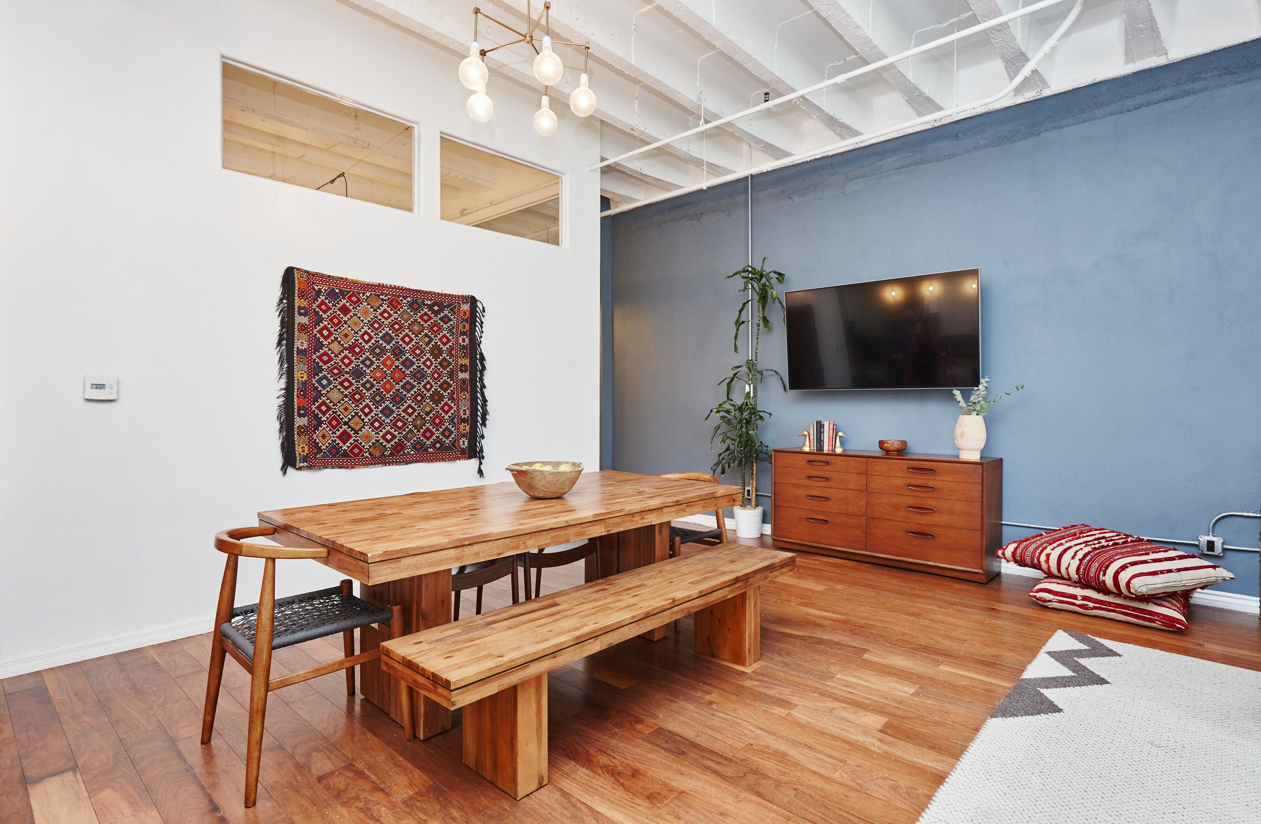 This Modern Boho Loft Used to Be a 1920s Department Store