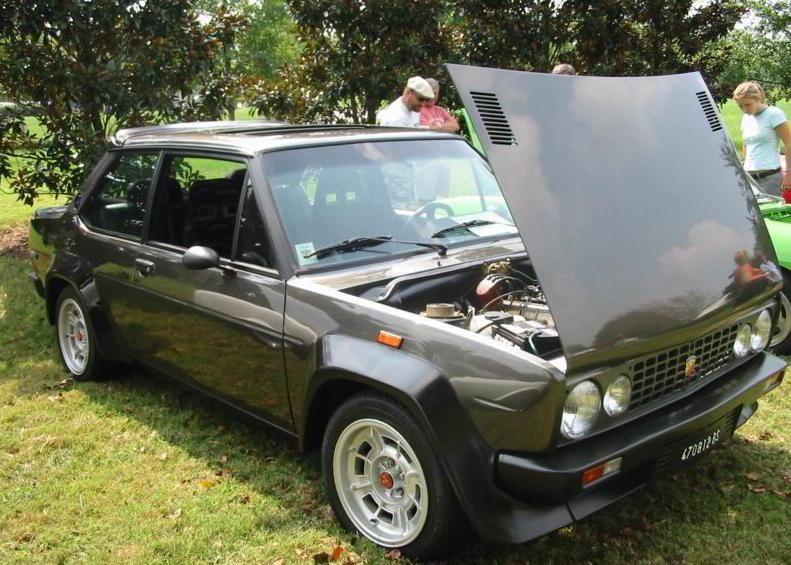 Fiat 131 Abarth Volumetrico Auto Auto Da Sogno Automobile