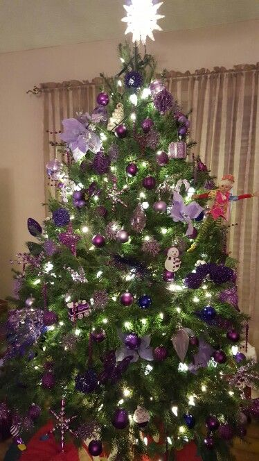My purple tree