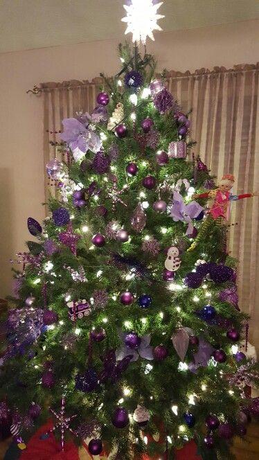 My purple tree
