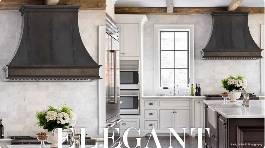 raw-urth-montrose-range-hood-steel-in-white-rustic-kitchen-with ...