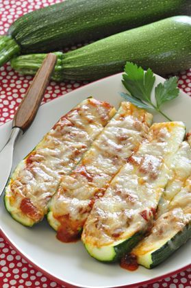 Zucchini Pizza Boats Zucchini Pizza Boats 4 ingredients easy recipe fun for kids to help make so delicious
