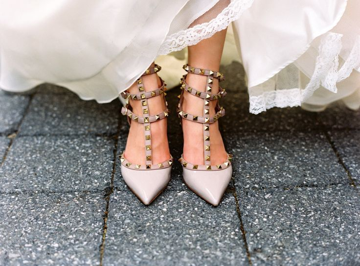 Valentino Rockstuds Are The Suitable As Wedding Shoes Weddingbee Bridal Shoes Valentino Wedding Shoes Heels