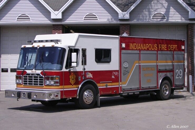 Indianapolis In Fd Rescue 29 Ferrara Heavy Duty Rescue Squad