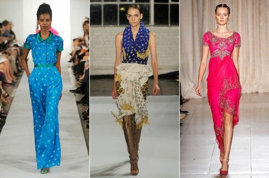 Beautiful Beading: Made for some seriously stunning evening .....Oscar de la Renta, Altuzarra, Marchesa,Spring 2013