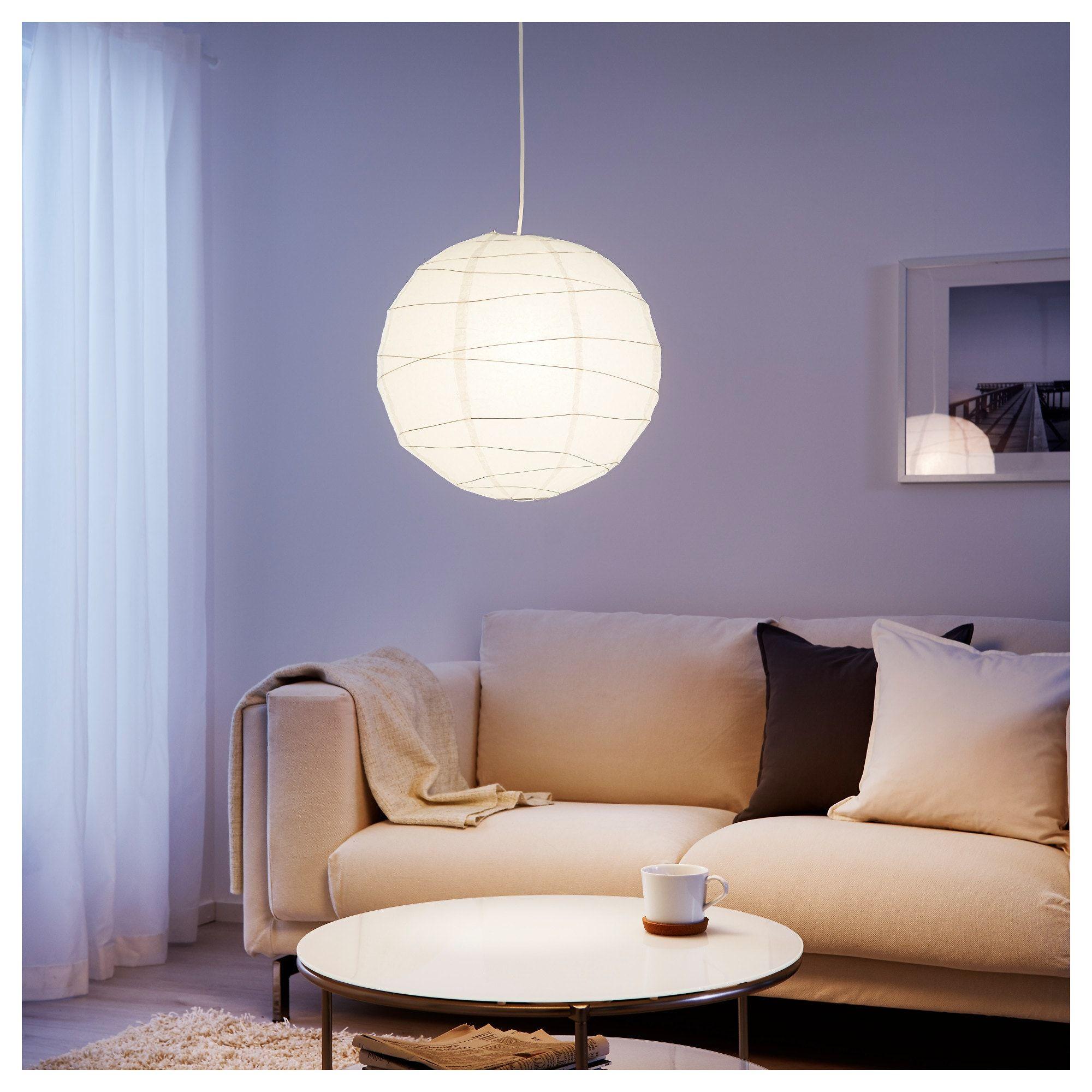 IKEA REGOLIT Pendant lamp shade white Pendant lamp