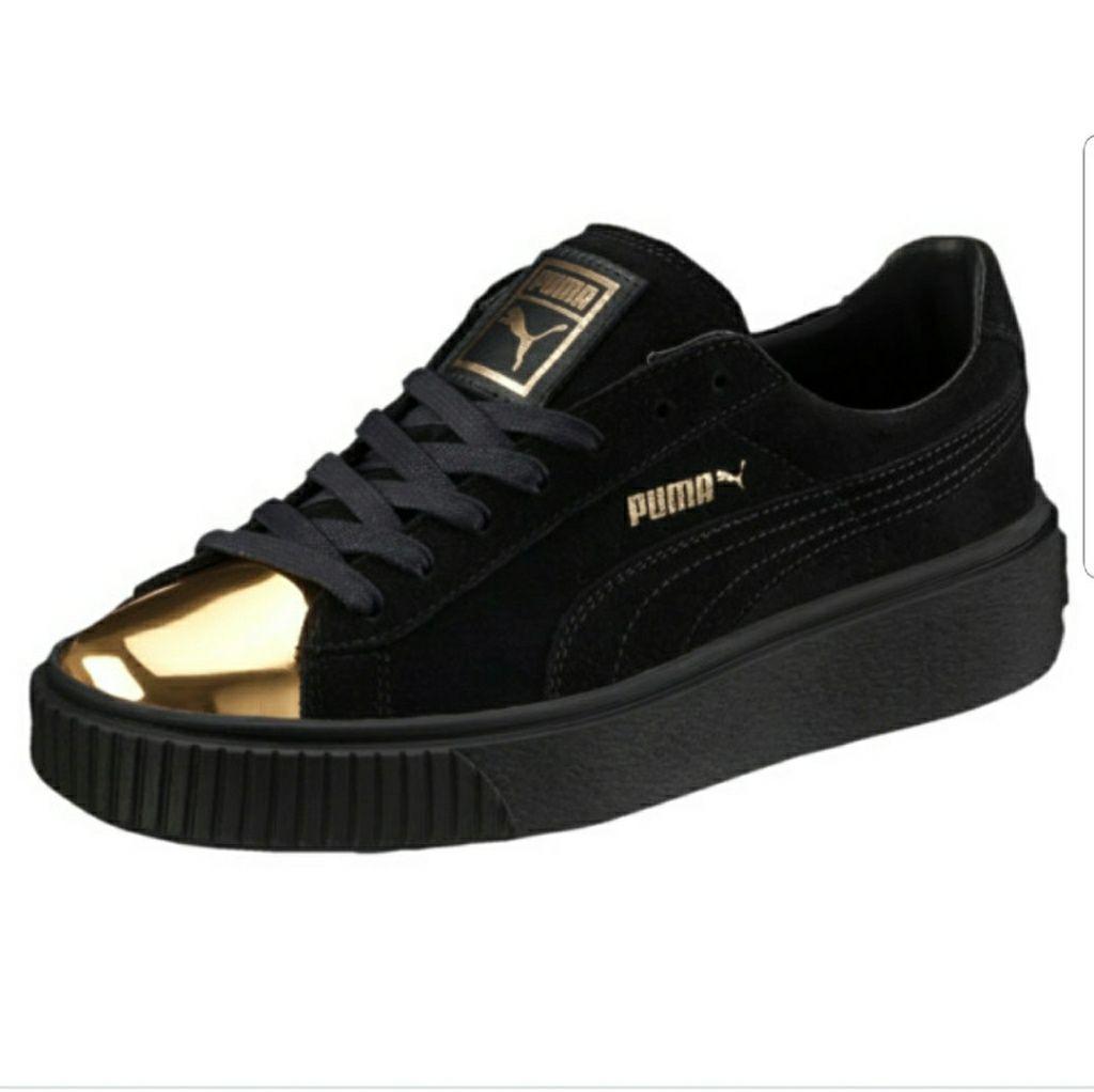9204b941a72dba Puma suede heart satin womens sneakers in 2019