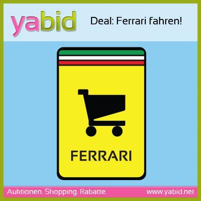 #Deal: Noch kein Plan fürs nächste Wochenende? Wie wäre es mit Ferrari fahren? Checkt den Superdeal hier: http://de.yabid.net/Ferrari-fahren-in-Koeln-Dienstleistungen-Classic-Auktion-8329.html