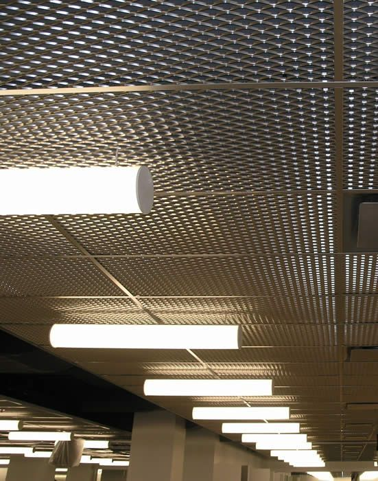 Metal Ceiling Panels Love This Look Plus It S