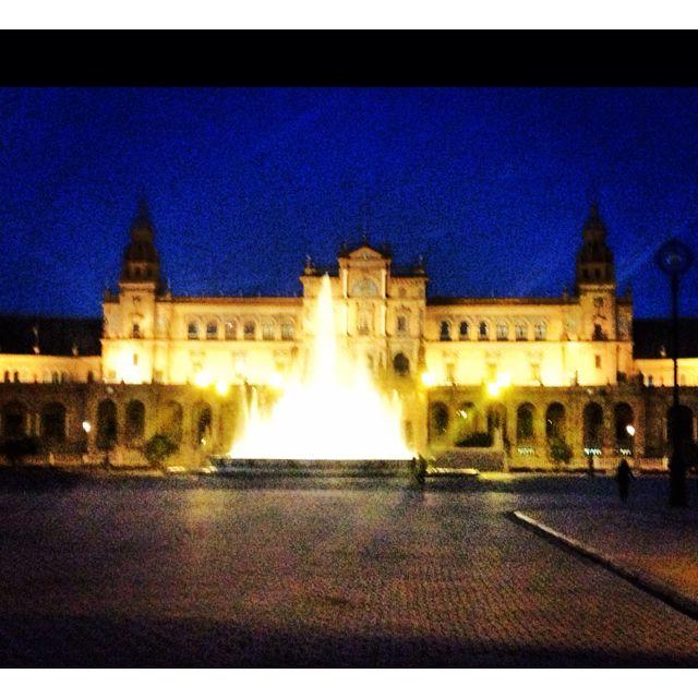 Plaza de Espana. Sevilla Spain