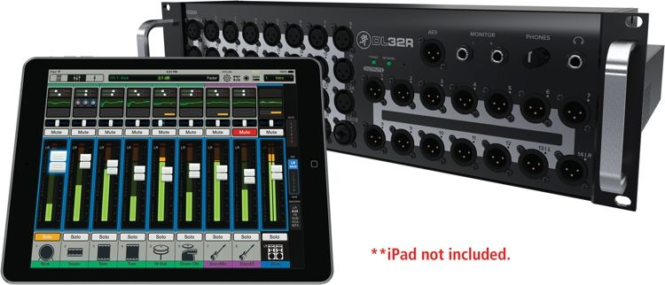 Mackie DL32R iPad-controlled Digital Rackmounted Mixer