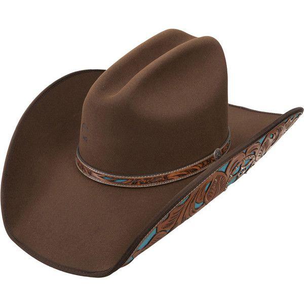 84fb75b18bf6ff Charlie 1 Horse Cheyenne Felt Cowgirl Hat ($80) ❤ liked on Polyvore ...