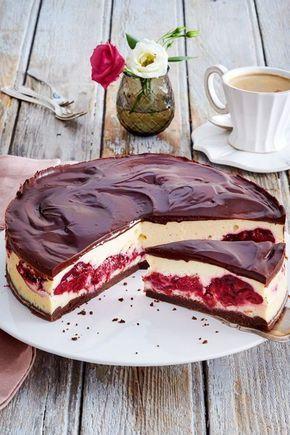 Schwarzwälder-Käse-Torte Rezept | LECKER #kuchenundtorten